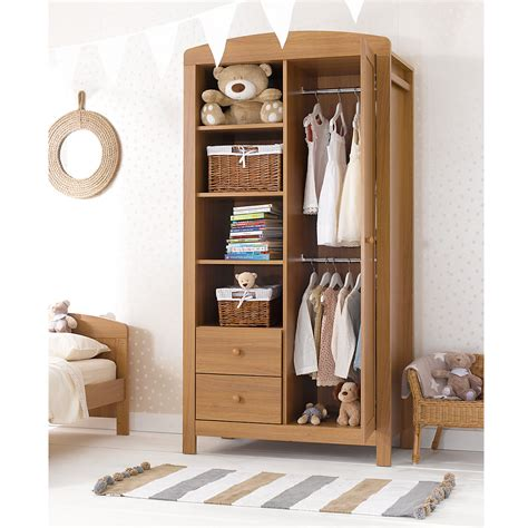 Baby Closet Furniture by Mothercare Baby Nursery Padstow Wardrobe Furniture Ebay