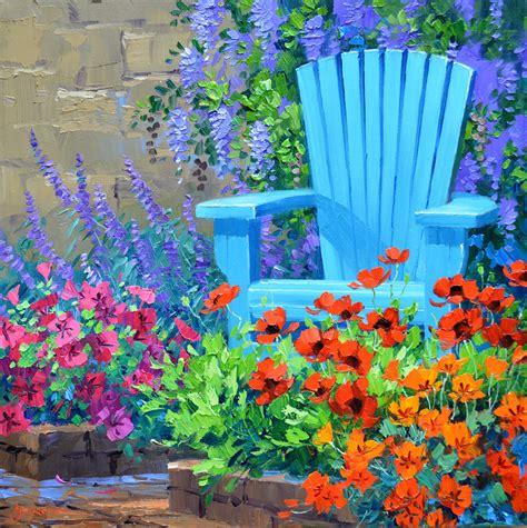 spring paint painting flowers mikki senkarik