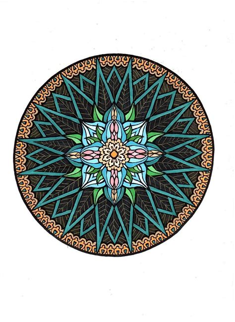 mystical mandala coloring book by alberta hutchinson 105 best images about мандалы on dovers book