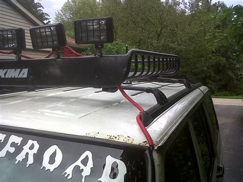 Jeep Roof Rack With Lights by How To Run Aux Lights On Roof Rack Jeep Forum