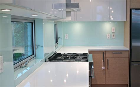 glass backsplashes for kitchen solid glass kitchen backsplash production and installation