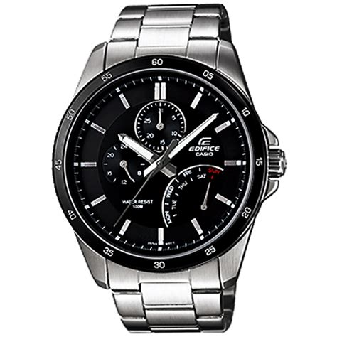 Casio Edifice Ef 520d 1av casio edifice mens black sports ef 341d 1av ef341d