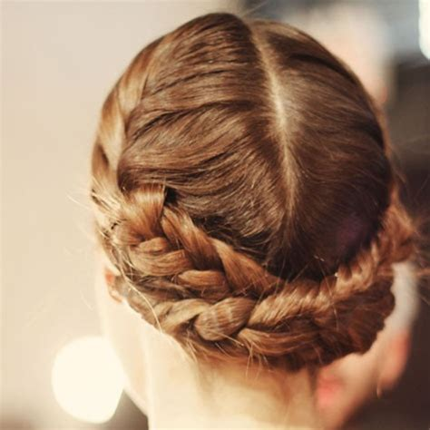 plaits with weave how to french plait around a bun hairstylegalleries com