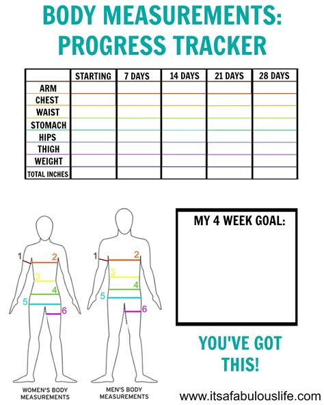 woman s fitness and weight loss charts