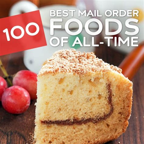 greatest mail order foods   time yum