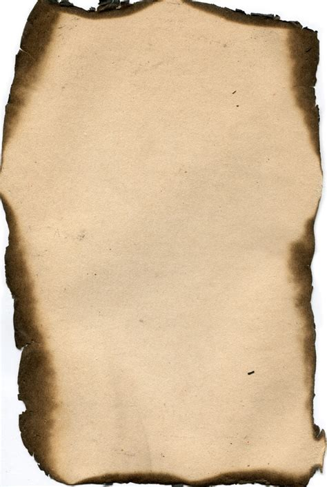 How To Make Paper Look And Burnt - 11 hi res burned vintage paper textures valleys in