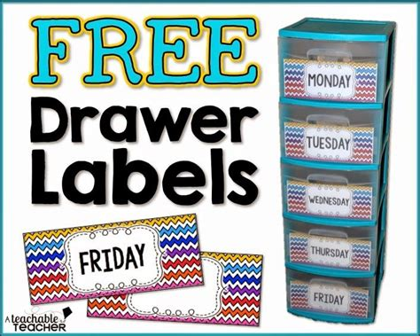 Best 25 Drawer Labels Ideas On Pinterest Teacher Paper Organization Owl Labels And Closet Labels Sterilite Drawer Label Template