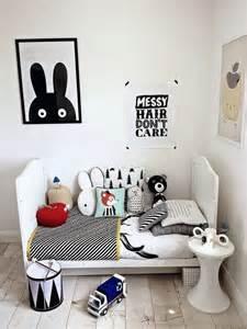 affiches en noir et blanc pour une chambre d enfant