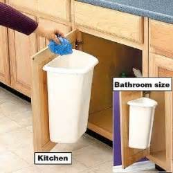 Door Mounted Garbage Can Door Mount Trash Can Shop Home Home Organizing Cleaning