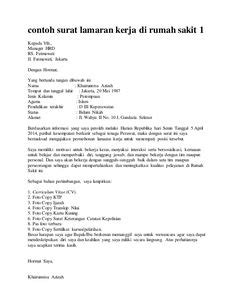 contoh surat lamaran kerja sebagai quality control surat lamaran pekerjaan sebagai quality control ben jobs