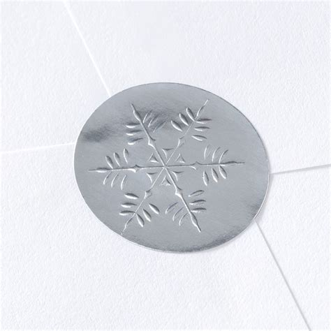 blank printable envelope seals blank silver snowflake wedding seal invitations by dawn