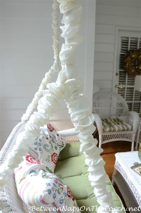 porch swing chain covers electrical cord covers hide metal swing chains