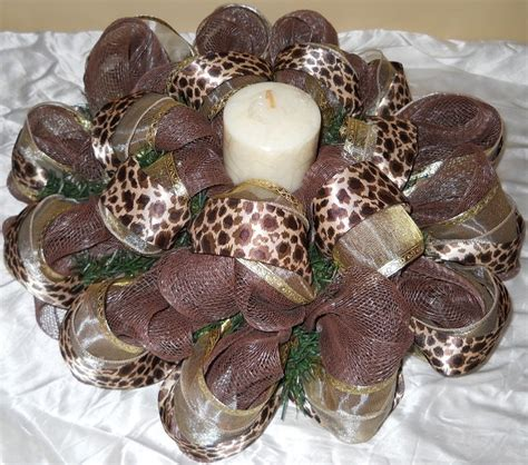 leopard centerpiece ideas 1000 images about mesh trees on