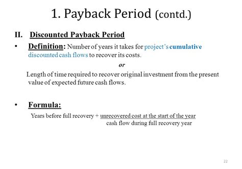 Mba Payback Period by Capital Budgeting Chapter Ppt