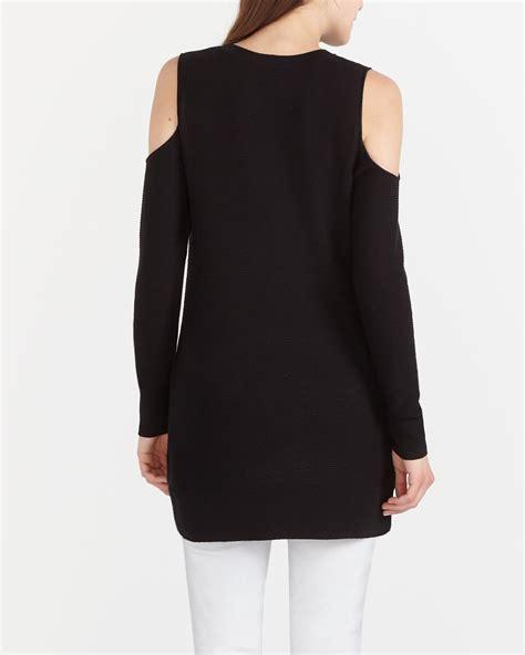 Cold Shoulder Tunic cold shoulder sweater tunic reitmans