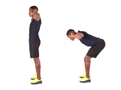 is it good to workout fitness man demonstrates how to perform good mornings lower back exercise high