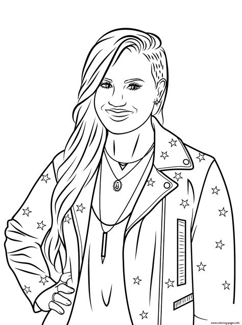 celebrity coloring pages online demi lovato celebrity coloring pages printable