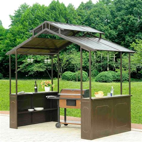 outside gazebo outside backyard grill gazebo free shipping new ebay