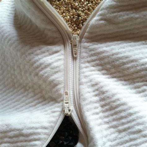 organic buckwheat and millet hull pillow open your
