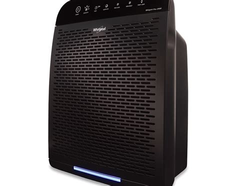 whirlpool wppro whispure air purifier slate black