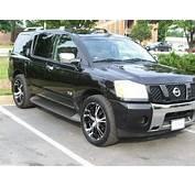 Nissan Armada With 22 Rims