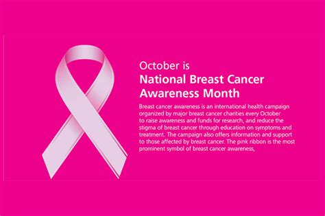 October Is Breast Cancer Awareness Month by October Is Breast Cancer Awareness Month Victoriachapman