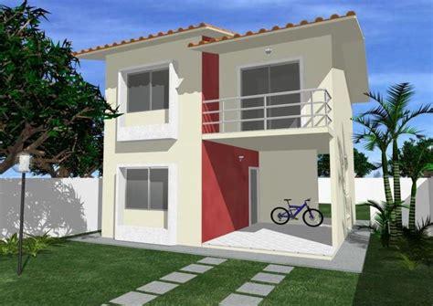 la casa 2 fachadas de casas modernas de 2 plantas