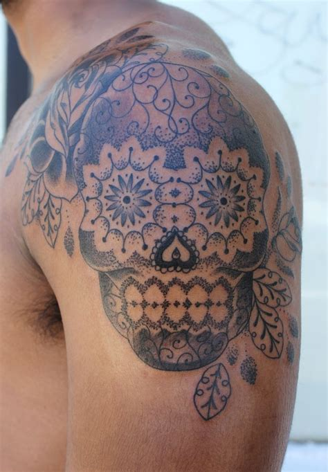 mexican skull tattoos i want and colors on pinterest