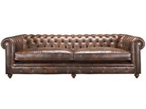 leather chesterfield sofa shakespeare chesterfield sofa in aged leather