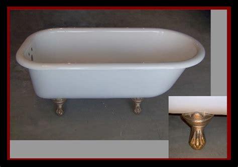 restoring old bathtubs clawfoot tub restoration salvaged bathtub for a french