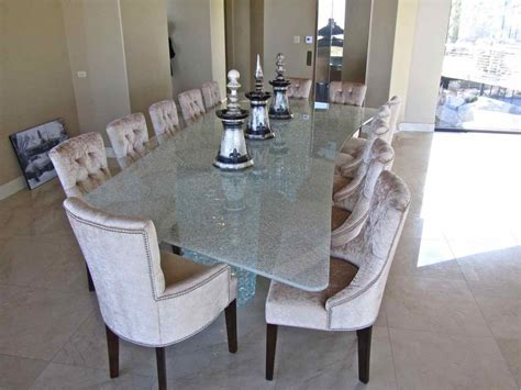 glass tables dining sans soucie art glass