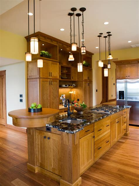 craftsman style kitchen lighting photo page hgtv