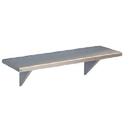 stainless steel wall bracket shelves by stainless craft