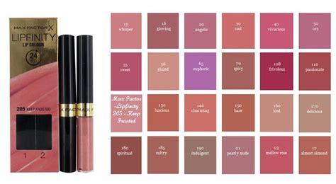 Lipstick Max Factor X max factor lipfinity colour lipstick lipgloss new in