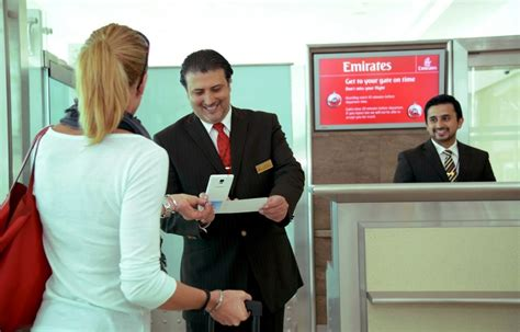emirates new mobile app to manage dubai airport the