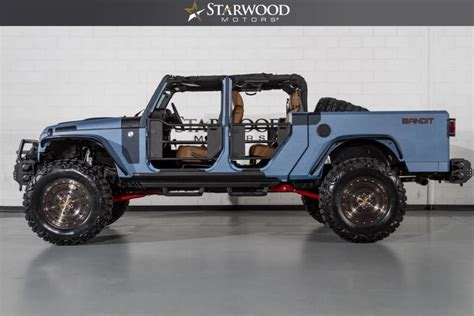 jeep bandit interior starwood motors 2016 jeep wrangler bandit world s best