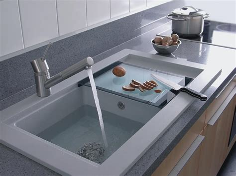contemporary stainless kitchen sink for elegant kitchen