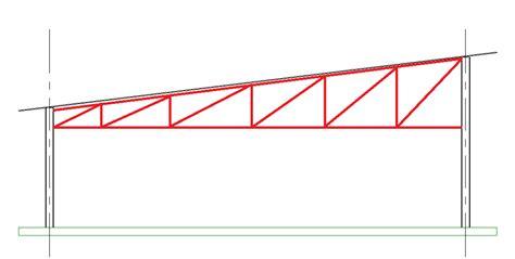 Gable Gable Frame Preliminary Design structural revit structural trusses with the revit