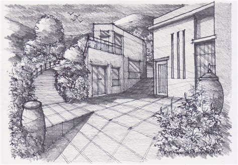 how to draw landscapes how to draw landscape 251109 pencil rendering learn to draw