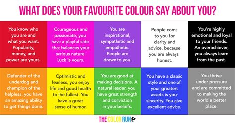 what is favorite color favourite colour the color run uk
