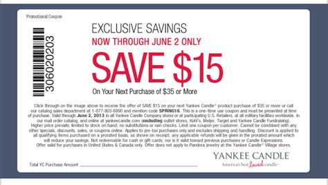 new yankee candle printable coupons new 15 off of 35 yankee candle coupon 25 off spring