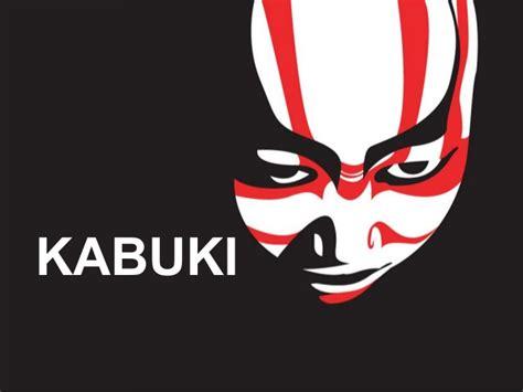 kabuki mask template kabuki