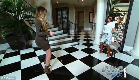 kris jenner foyer s trick as kanye west asks