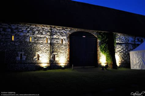 outdoor lights outdoor lighting hire oakwood events