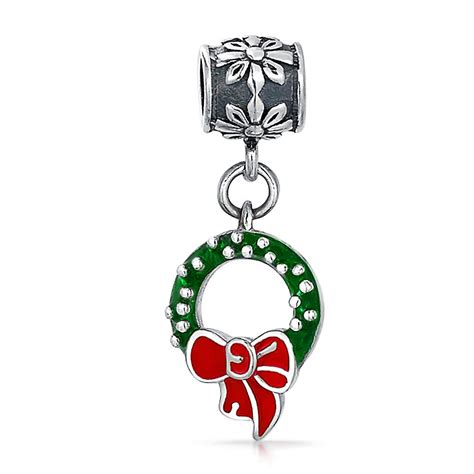 charms and for jewelry 925 silver dangling wreath charm pandora