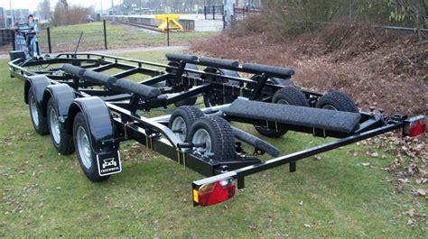 boot trailer freewheel freewheel tridem boottrailer stam aanhangwagens