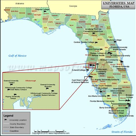 florida colleges and universities map florida colleges and universities best and top colleges