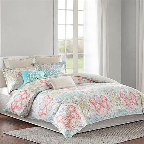 aqua and grey bedding echo design cyprus reversible comforter set bed bath