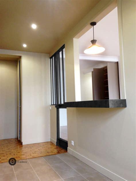 r 233 alisation passe plat cuisine moderne couloir