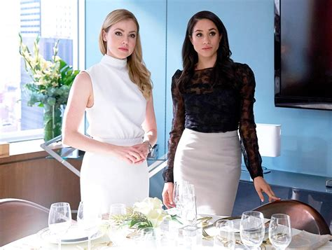 amanda schull on suits suits amanda schull on meghan markle s exit from the